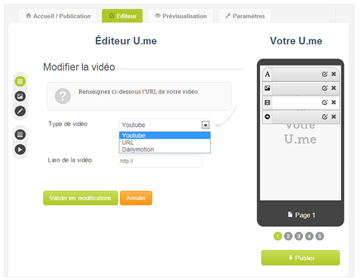 How to insert a video in my mobile website